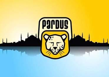 Pardus Logosu ve İstanbul Silüeti
