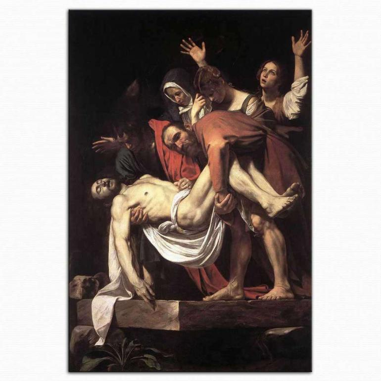 Hz.Isa'nın Defnedilmesi - Caravaggio