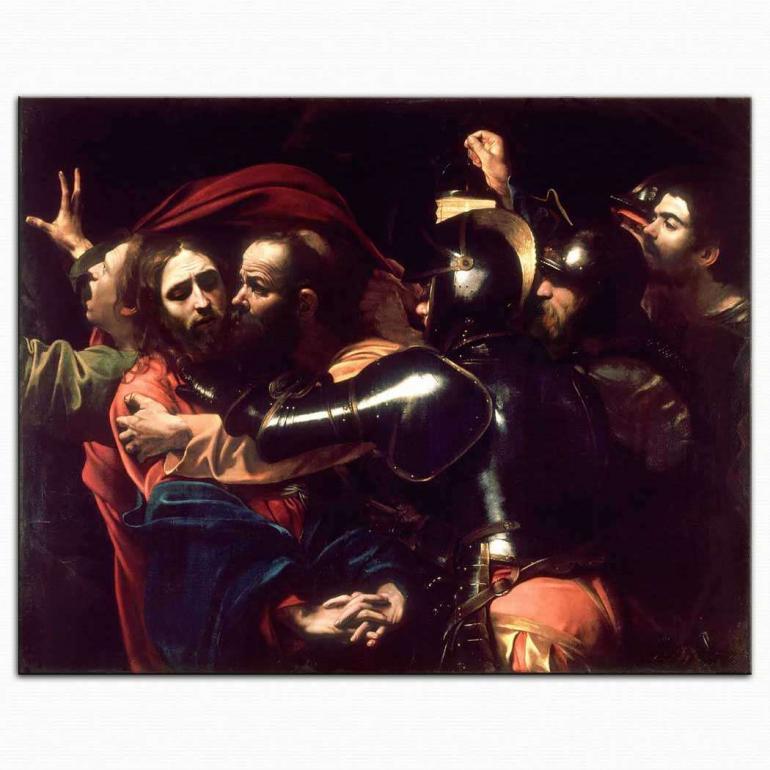 Hz. Isa'nın Yakalanışı - Caravaggio