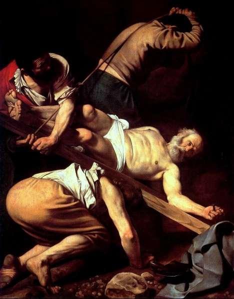 Aziz Peter'in Çarmıha Gerilmesi