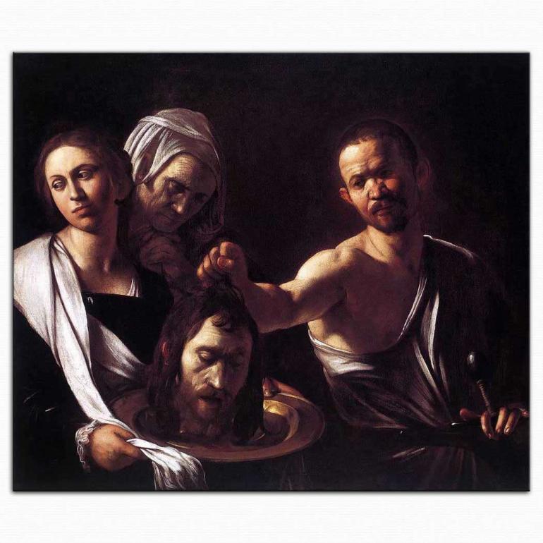Aziz John'un Başı - Caravaggio